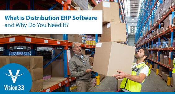 ERP software for distribution - sap business one